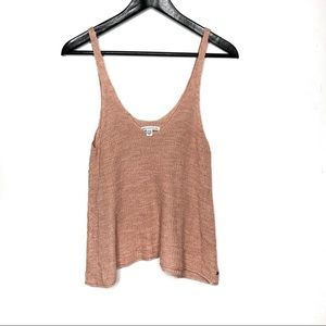American Eagle Knit Pink Tank Top
